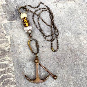 Anchor, Skull & Crossbones Necklace